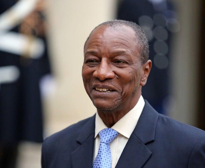 Guinean President Alpha Condé