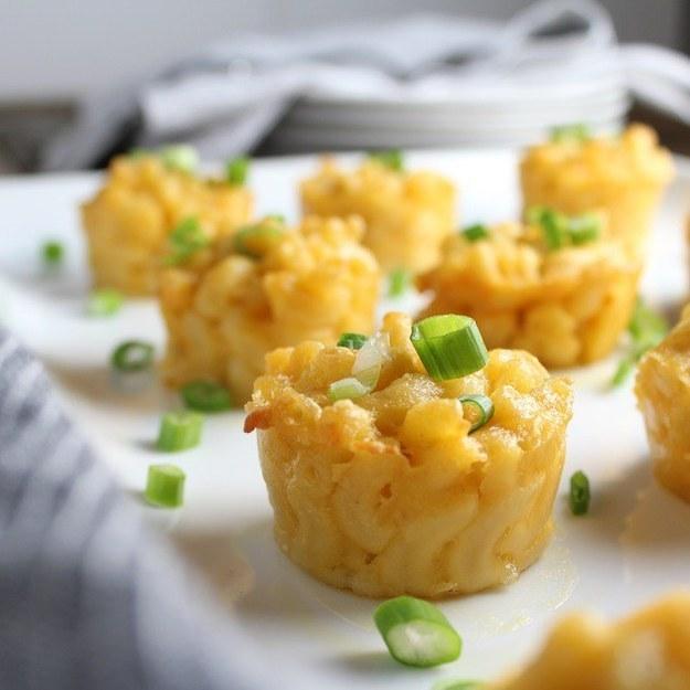Mini Muffin Mac and Cheese