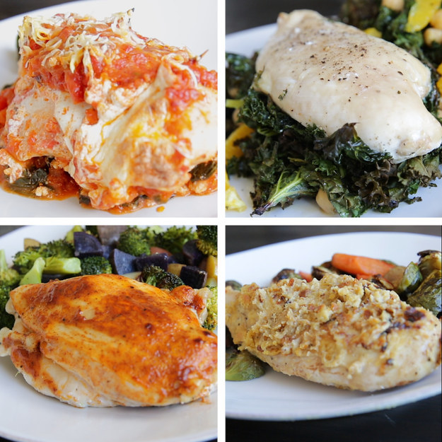7 easy ways to eat healthier this week for Different meals to make with chicken