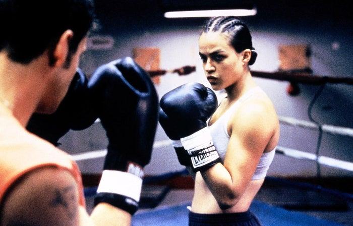 Michelle Rodriguez in Girlfight.