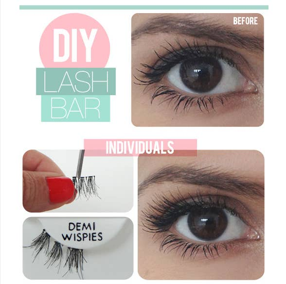 16 Hacks For Everyone Who Wears False Eyelashes