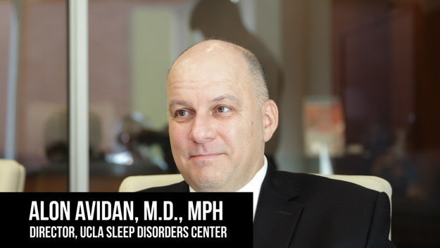 Since I was a tad worried about messing with my body/health, I decided to consult Dr. Alon Avidan, a sleep specialist at UCLA.