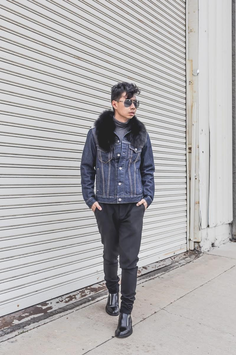 7757dc2b359 We Asked 17 People To Style A Denim Jacket And The Results Are Badass