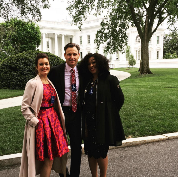 """The """"Scandal"""" Cast Visited The White House And It Looked"""