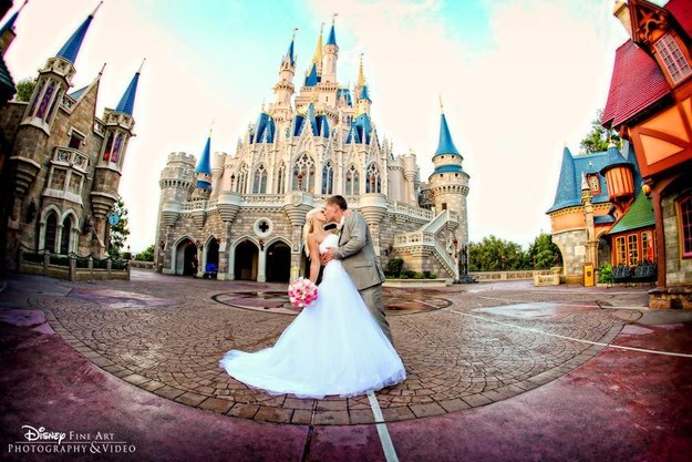 Brides Can Be Cinderella For A Day With Disney World's New