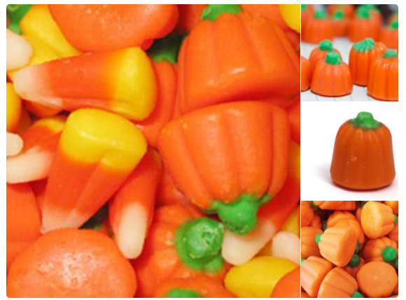 Candy corn is best in pumpkin form: