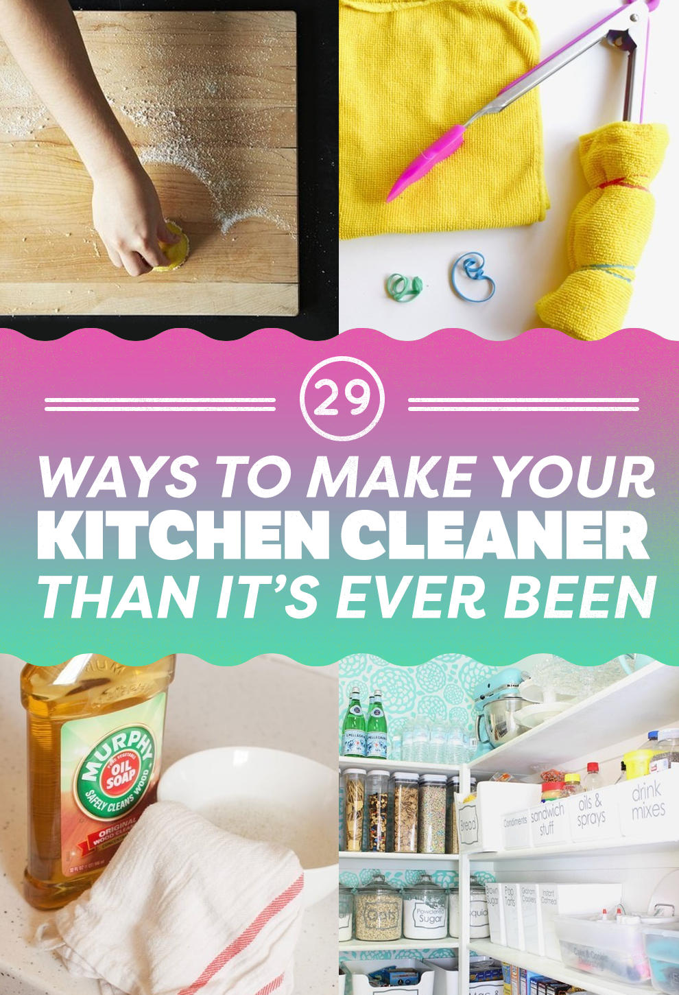 29 Clever Kitchen Cleaning Tips Every Clean Freak Needs To