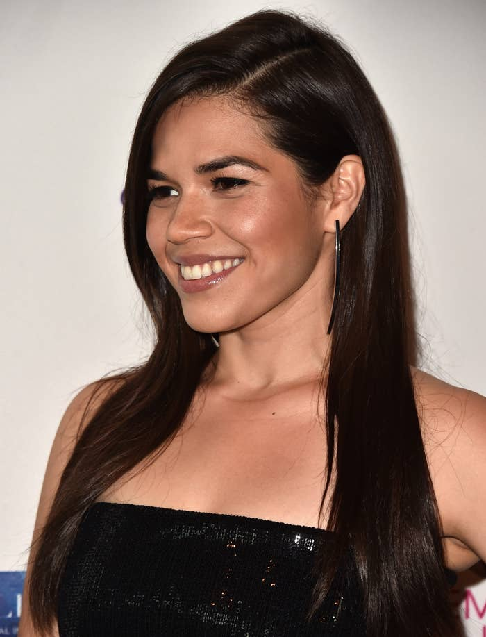 America Ferrera at the 11th Annual Global Women's Rights Awards at the Directors Guild of America.