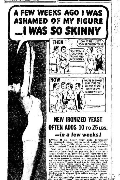 A 1936 ad from The Chicago Daily Tribune