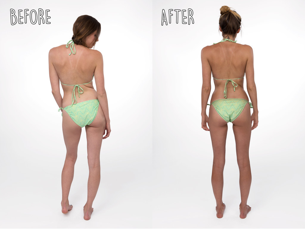 This Is How Different Your Body Can Look With A Spray Tan