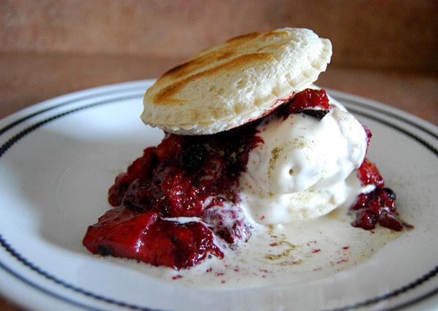 Toasted Uncrustable Ice Cream Sandwich