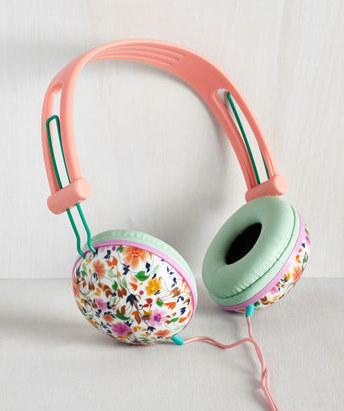 These dreamy, pastel headphones to zone out with in the park.