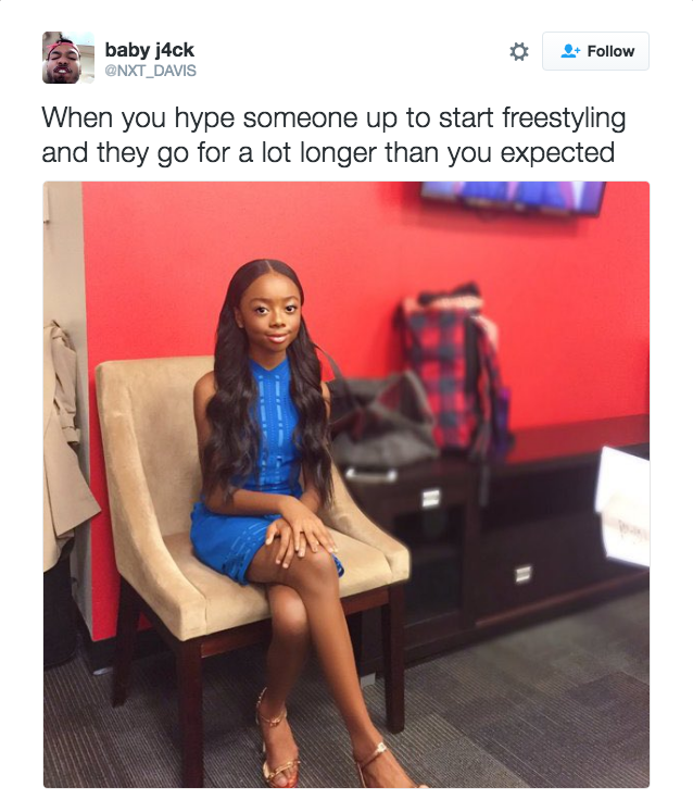17 Tweets About Freestyling That Are Way Too Real