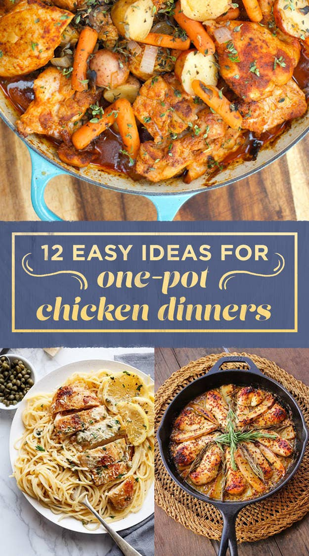 12 easy ideas for one pot chicken dinners share on facebook share forumfinder Choice Image