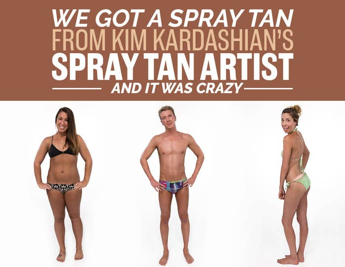 Body Can Look With A Spray Tan