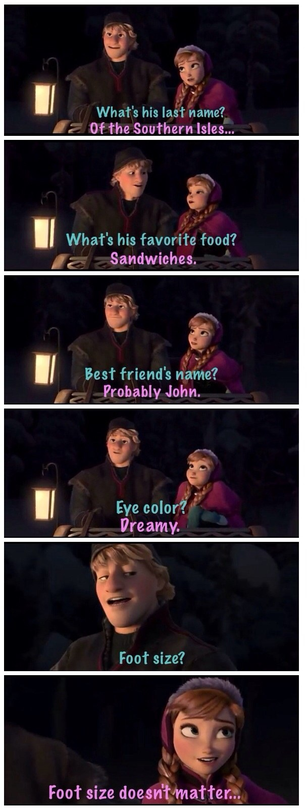 You probably chuckled at this gag in Frozen, even if your kids didn't.