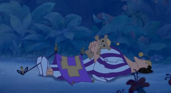 """There's that time that Kronk """"pitched a tent"""" in The Emperor's New Groove:"""