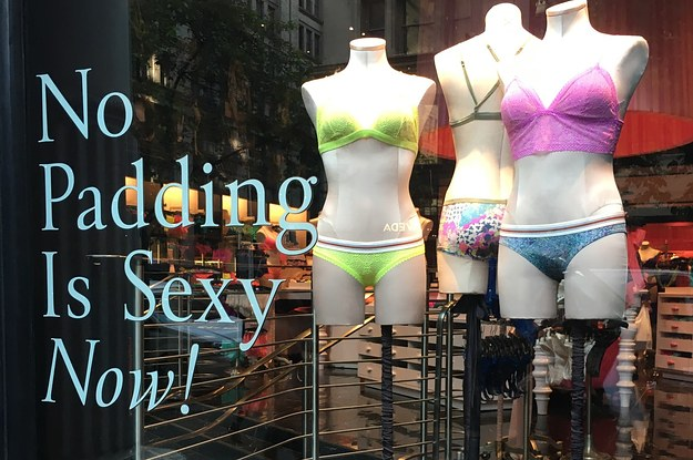b4899125ae143 Victoria's Secret Is Now Pushing Un-Padded Bras