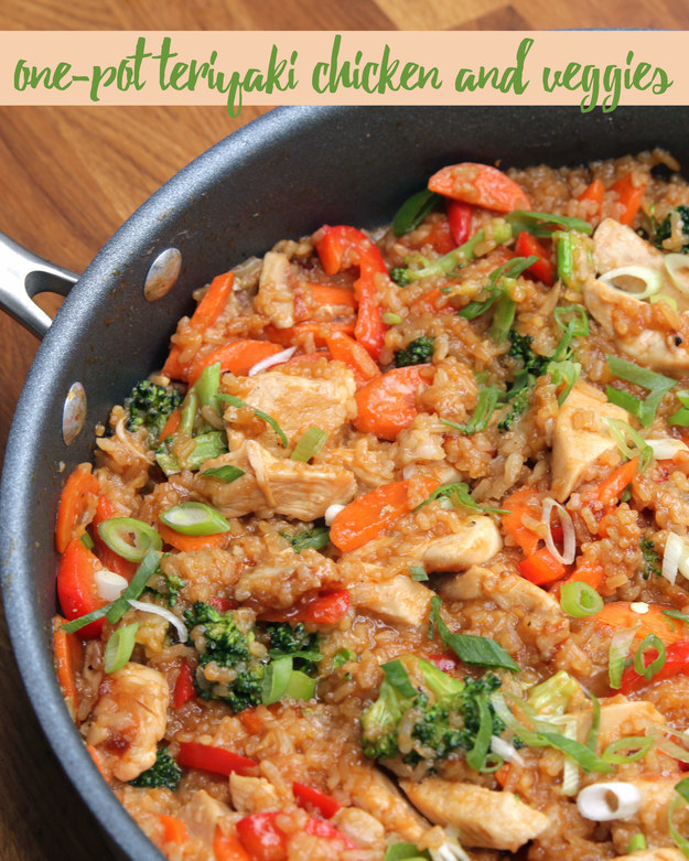 This One-Pot Teriyaki Chicken And Rice Is What You Need To