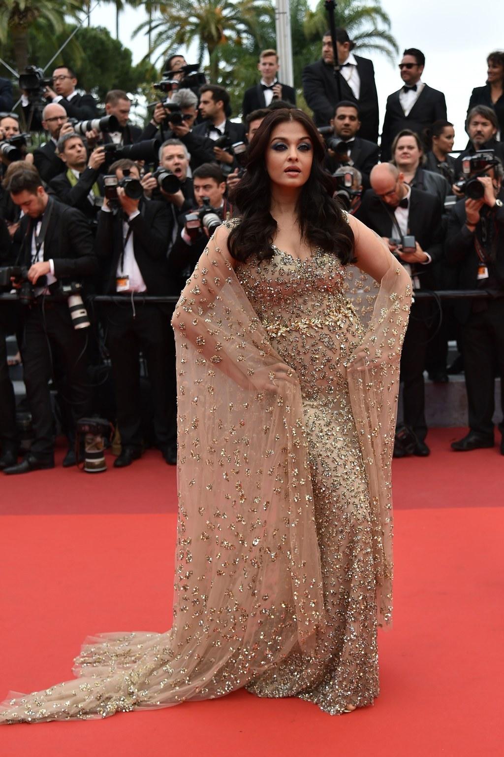 Aishwarya Rai Bachchan Look Savagely Beautiful At The 69th Cannes Film Festival
