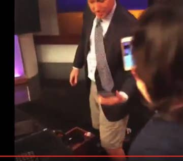People Are Wigging Out About This Male News Anchor Telling A