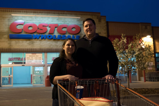 "Their love of Costco only goes so far, though — it won't be a part of their wedding. ""We aren't crazies who are going to get a tattoo of the Costco logo or something,"" Tarshish said."