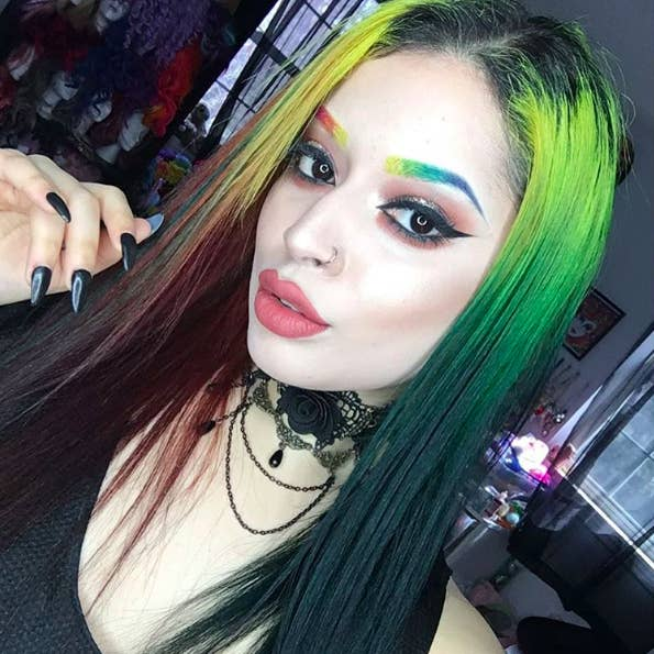 Rainbow Eyebrows Are The Newest Beauty Trend And Theyre Amazing