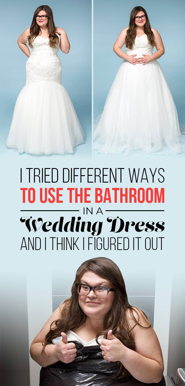 Heres the best way to pee in your wedding dress without ruining share on facebook share ombrellifo Gallery