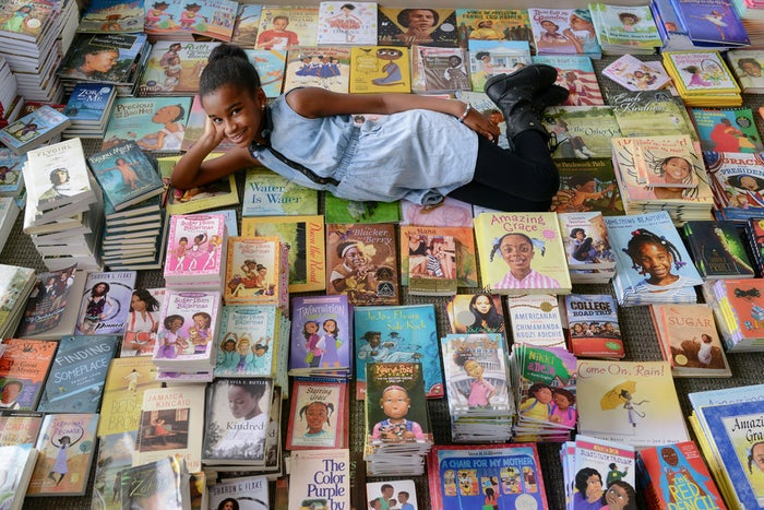 """This 11-year-old wonder from New Jersey got sick of reading books about """"white boys and their dogs,"""" so she started a campaign called #1000BlackGirlBooks that aims to collect children's books featuring black girls as main characters."""