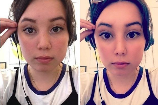 Makeup asian eyes look bigger