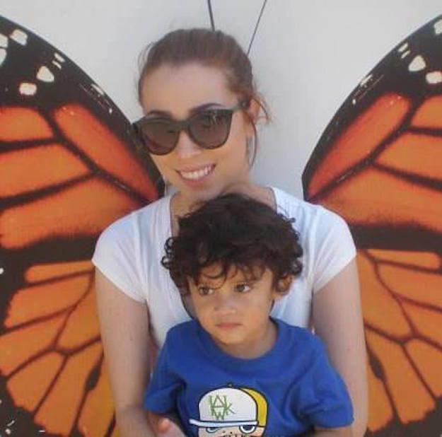 Estes são Brittaney Benesh e seu filho de 4 anos, Ayden. Eles vivem em Vallejo, Califórnia.