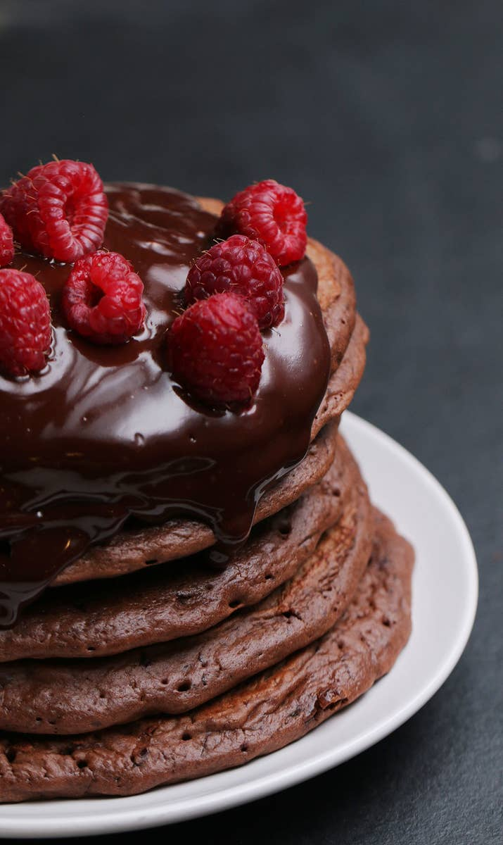 These Chocolate Pancakes Are Basically The Work Of Modern Day Picasso