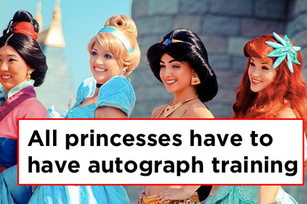 24 things princesses at disneyland would never tell you m4hsunfo