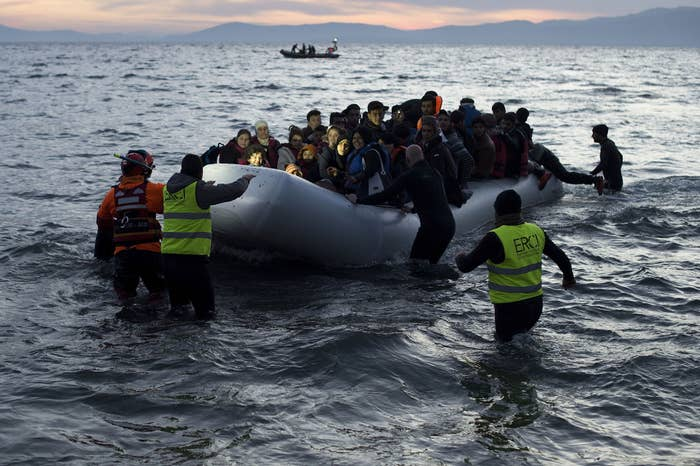 """More than 1 million asylum-seekers arrived in Europe from Turkey last year, most of whom crossed the sea from Turkey in rubber boats. In March, the EU agreed to pay nearly $7 billion over the next two years to Turkey. In exchange, Turkey agreed to accept refugees Europe decides to send back.The EU also recently proposed that member countries refusing to accept some of these people for relocation pay a """"solidarity contribution"""" of nearly $300,000 per head."""