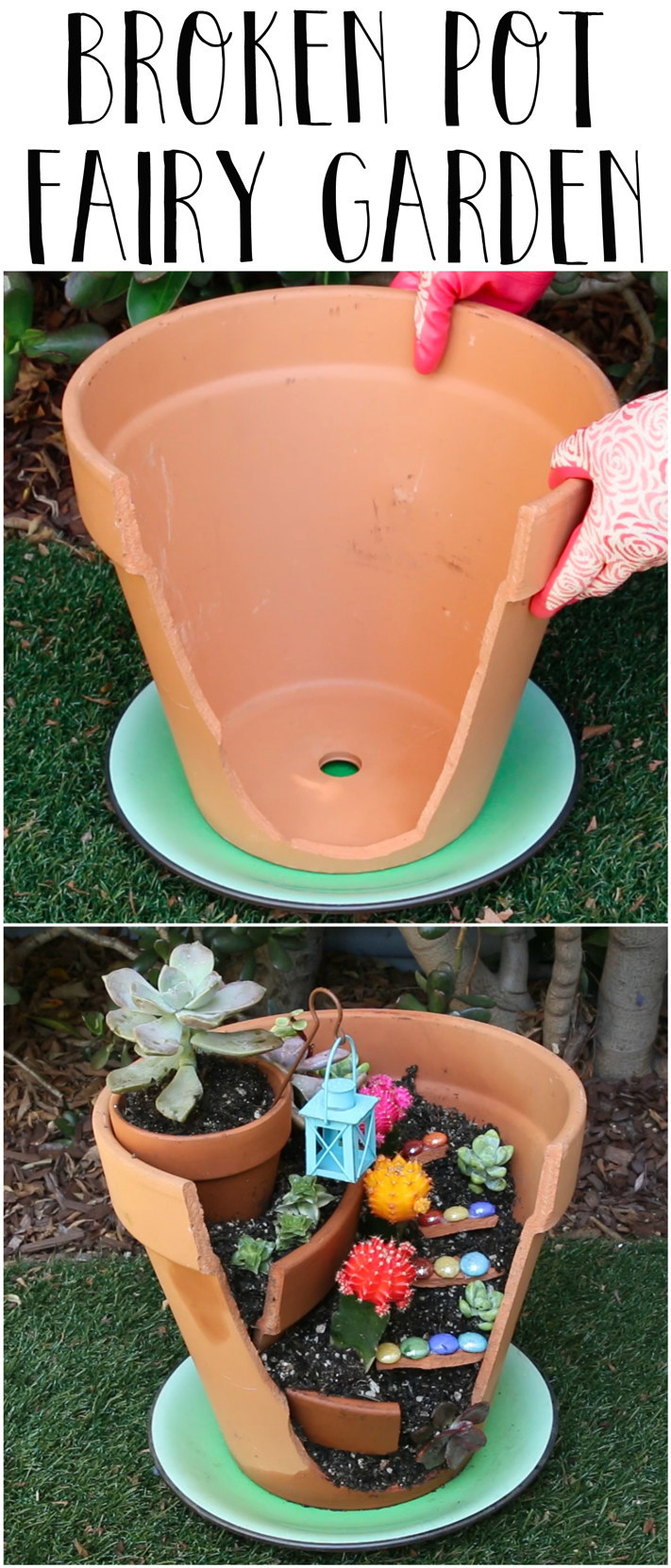 Give Your Broken Pots A Magical