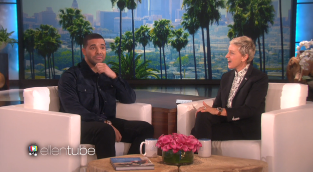 On Wednesday, Drake is going to bless us all and reunite with his BFF Ellen DeGeneres on her show.