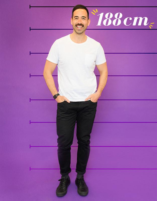 Will mide 188 cm, sale con hombres y quiere sentirse menos raro cuando hay una gran diferencia de altura.