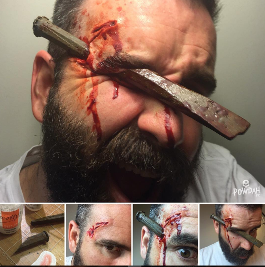 Instagram Users Totally Love This Guy's Horrifyingly Awesome Special Effects Makeup