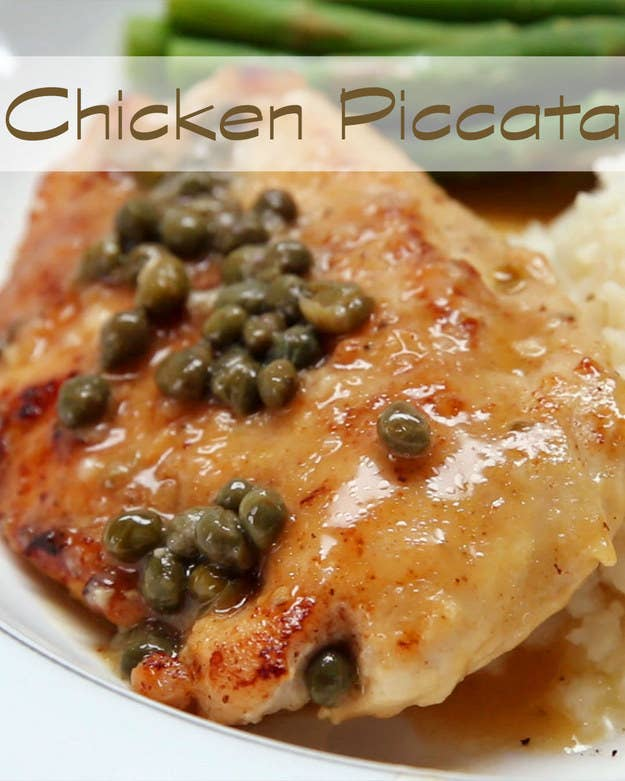 83 insanely popular dinners that are practical and easy easy chicken piccata forumfinder Choice Image