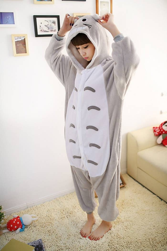 "These onesies have Spirited Away all my stress.Yes, I know Totoro didn't appear in Spirited Away.Most promising review: ""This is everything that I could ever want in my life.""—T. ReedGet it here."