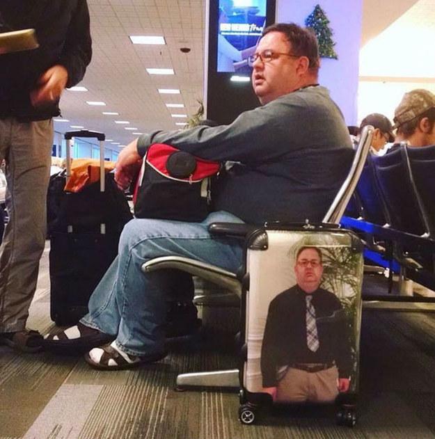 La solución definitiva al robo de maletas.