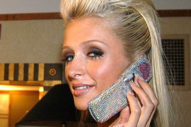 a complete history of paris hilton and her cell phones. Black Bedroom Furniture Sets. Home Design Ideas