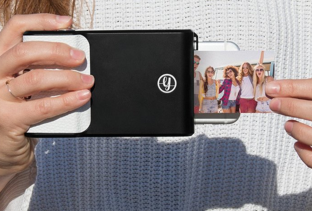 This phone case that instantly prints out pictures for the mom who loves keeping and sharing little mementos.