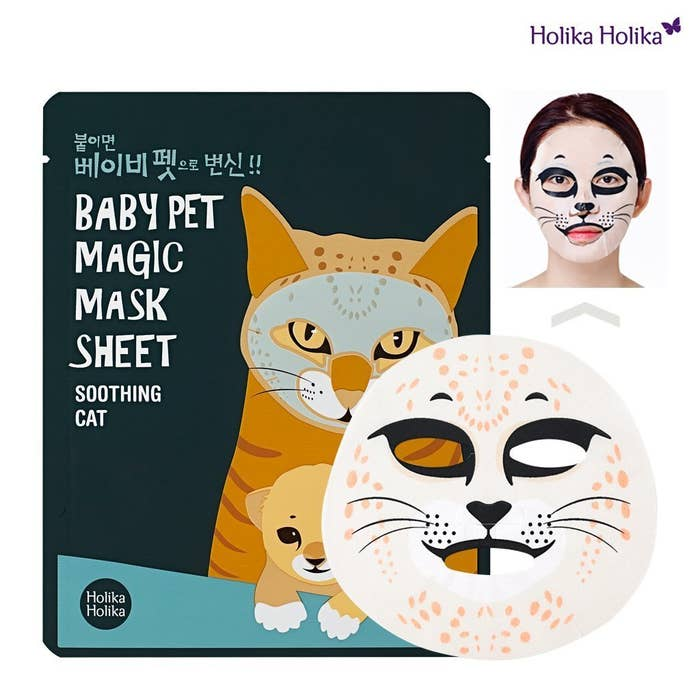 19 Creepily Cute Korean Sheet Masks That You'll Want To Try ASAP