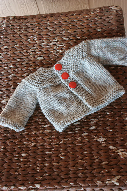 This quick and easy cardigan.