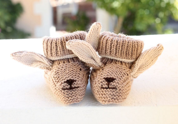 These booties THAT ARE ALSO BUNNIES.