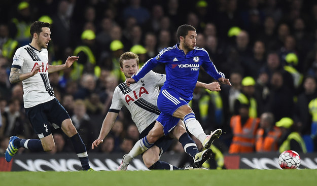 The club claimed the title after Chelsea and Tottenham had a 2–2 draw at London's Stamford Bridge stadium. Tottenham had needed a victory in order to stop Leicester City claiming the championship title.