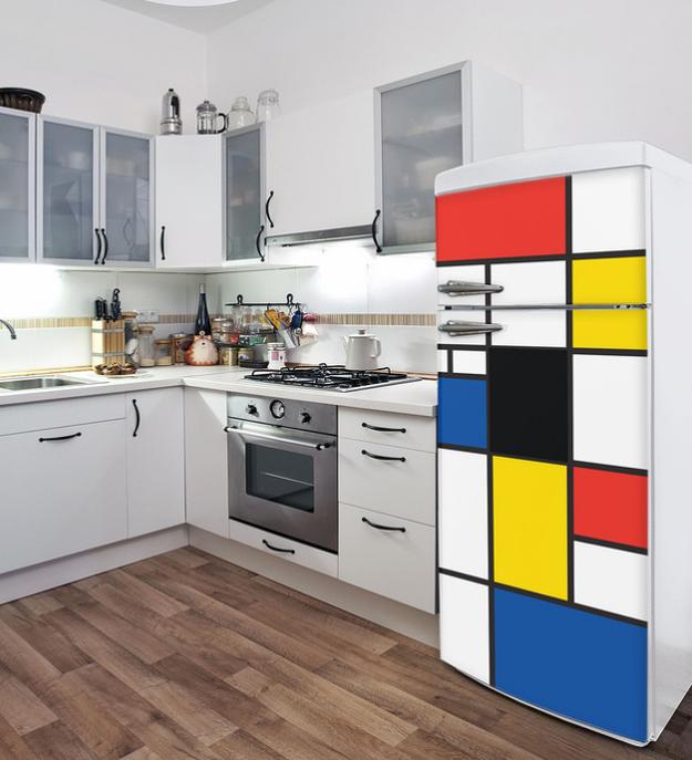 Una calcomanía que hará que tu refrigerador parezca sacado del MoMA