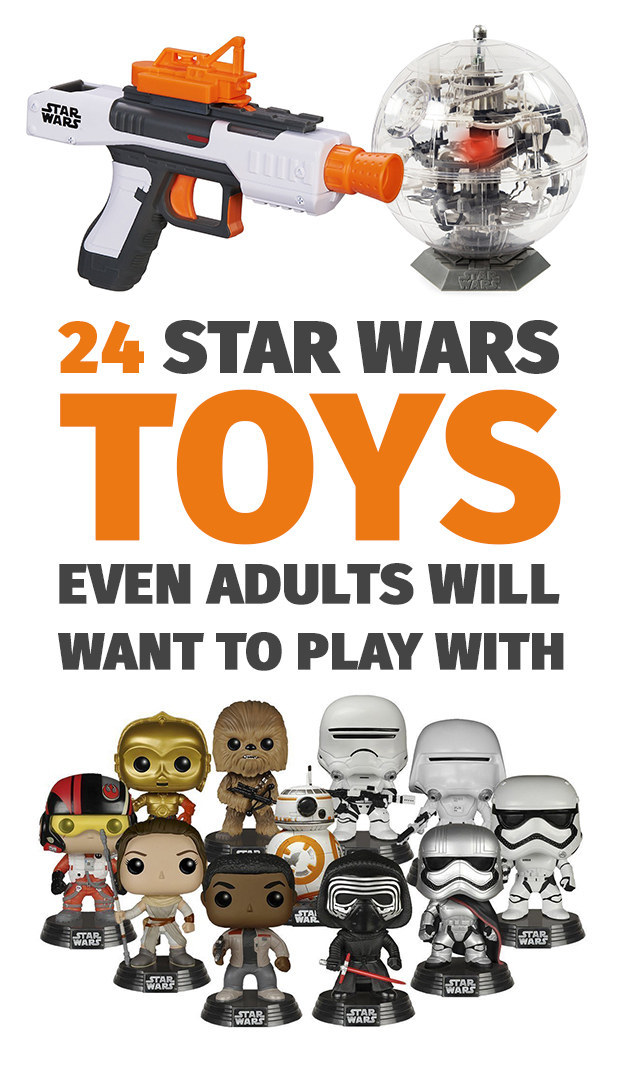 "24 ""Star Wars"" Toys Even Adults Will Want To Play With"