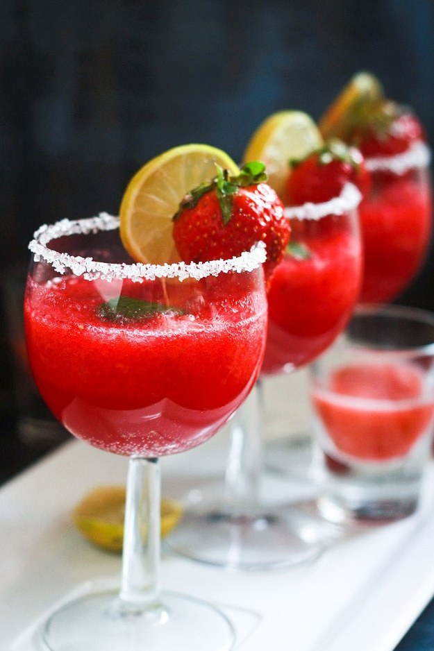 Strawberry Punch (non-alcoholic)